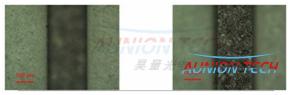 红外皮秒激光器移除不锈钢表面陶瓷膜的应用44.png